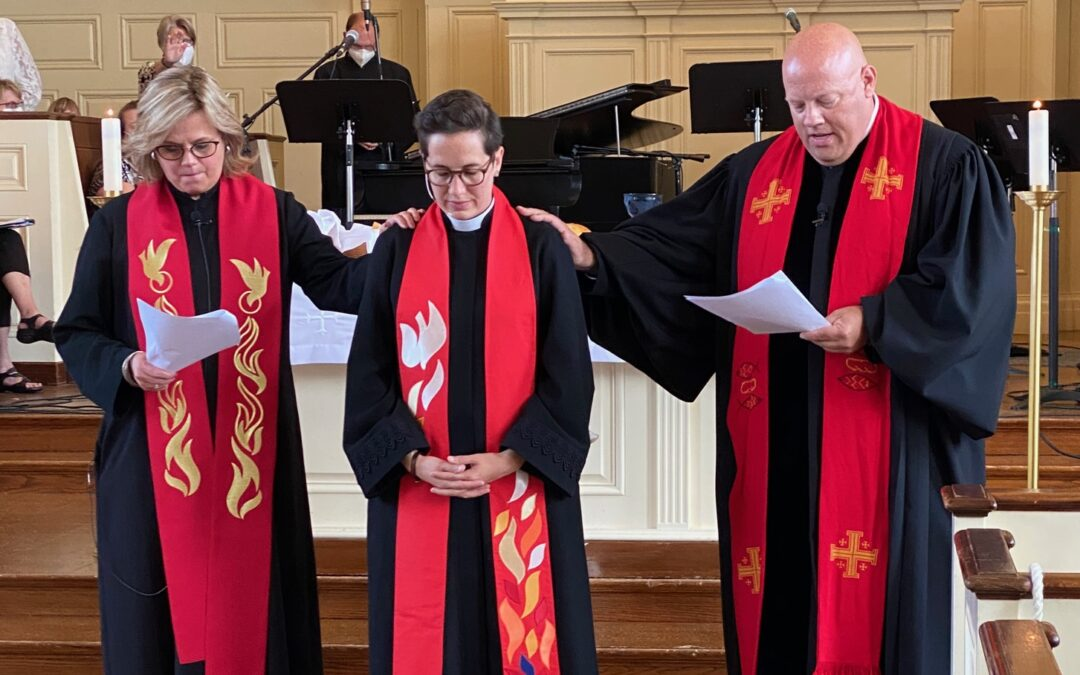 The Rev. Lindsey Altvater Clifton is installed